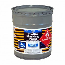 7033-05 – Handicap Blue Parking Zone ADA Paint - RAE Traffic and Zone Marking Paint - Alkyd – Oil Based – Heavy Duty Solvent base - Rae Products and Chemicals Corp | RAE Paint