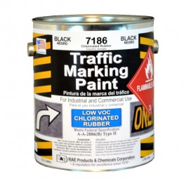 7186-01 RAE Chlorinated Rubber - Low VOC - Solvent Based Marking Paints - Rae Products and Chemicals Corp | RAE Paint