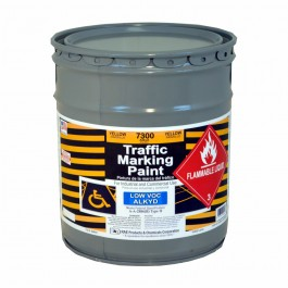 7300-05 - RAE Traffic and Zone Marking Paint - Alkyd – Oil Based – Heavy Duty Solvent base - Rae Products and Chemicals Corp | RAE Paint