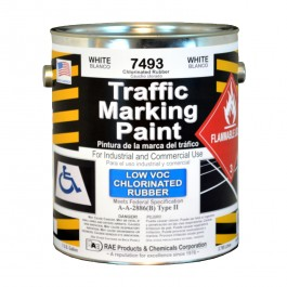 7494-01 RAE Chlorinated Rubber - Low VOC - Solvent Based Marking Paints - Rae Products and Chemicals Corp | RAE Paint