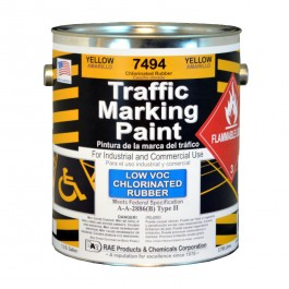 7493-01 RAE Chlorinated Rubber - Low VOC - Solvent Based Marking Paints - Rae Products and Chemicals Corp | RAE Paint