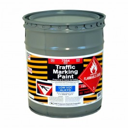 7564-05 - Fire zone red – bright red – osha red - RAE Traffic and Zone Marking Paint - Alkyd – Oil Based – Heavy Duty Solvent base - Rae Products and Chemicals Corp | RAE Paint