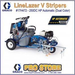 Graco LineLazer V 250DC HP Automatic Series - Three Gun, Automatic - 17H472 - Dual color - 2-color contrast line painting striper