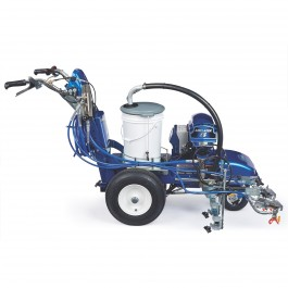 LineLazer V ES 2000 HP Automatic Series Electric Airless Line Striper, 2 Auto Guns Two AGM Batteries - 25M552