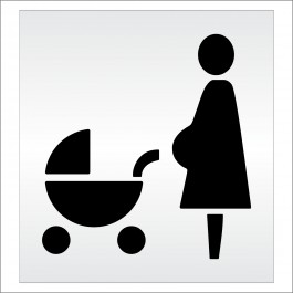 Baby Carriage Stencil Washable Stencil Reusable Stencil
