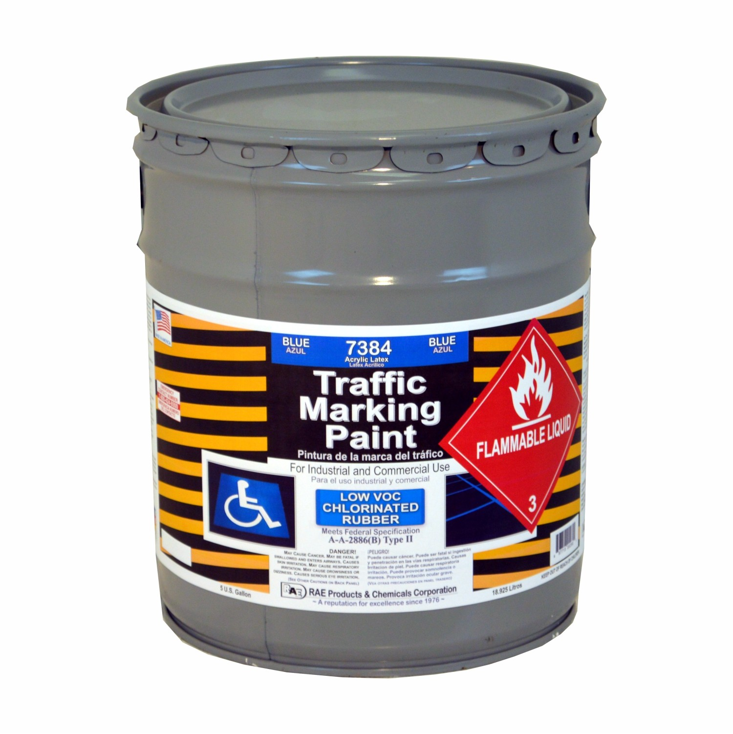 Blue 5 Gallon Chlorinated Rubber Low Voc Solvent