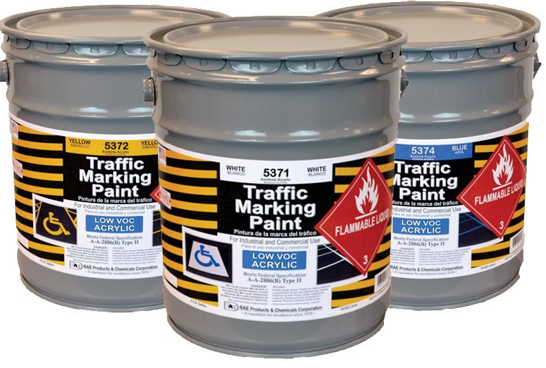 RAE Acetone Acrylic - Low VOC - Solvent Based Marking Paint - Rae Products and Chemicals Corp   RAE Paint