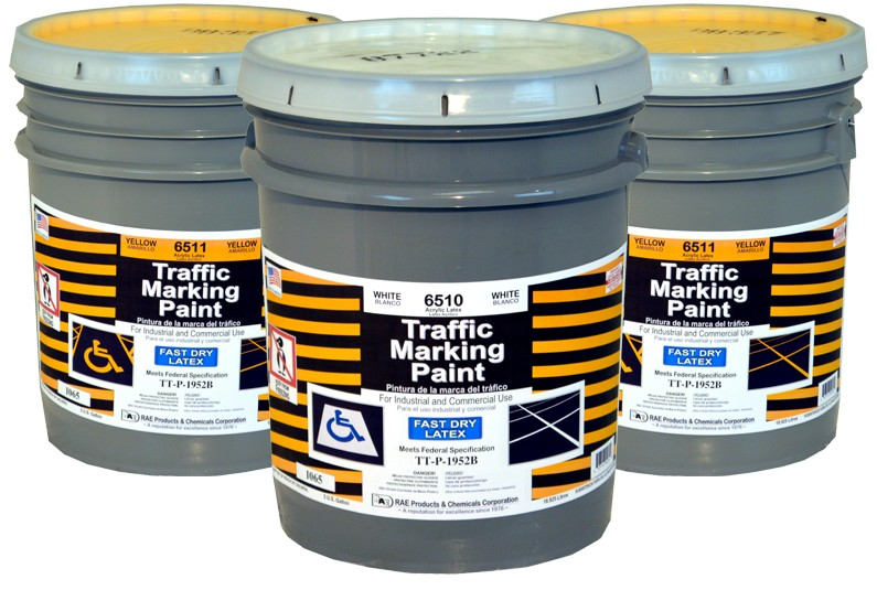 RAE Fast Dry Latex - Water Based Marking Paint - Rae Products and Chemicals Corp   RAE Paint