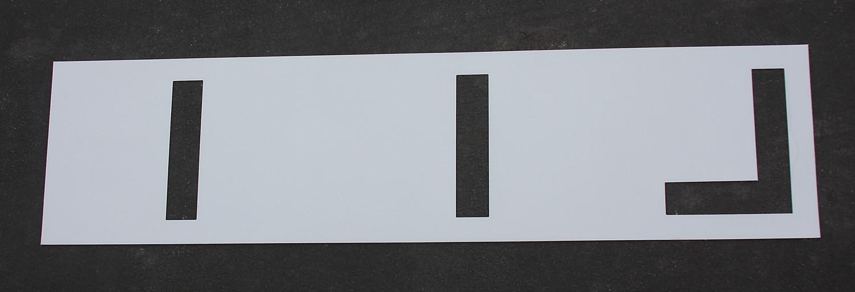 24 inch - Football Field Marking Paint Stencil