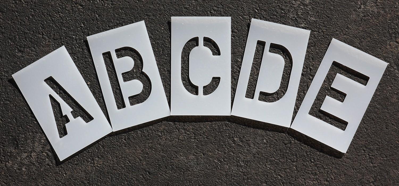 3 inch - Alphabet  Marking Paint Stencil Kit