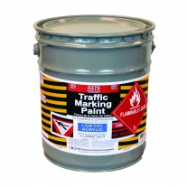 RAE Red - 5 Gallon - Acetone Acrylic - Low VOC - Solvent Based Marking Paint - 5375-05