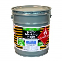 Green - 5 Gallon - Acetone Acrylic - Low VOC - Solvent Based Marking Paint - 5376-05