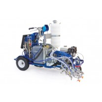 Graco LineLazer V 250SPS HP Reflective Series - Two Gun, Automatic - Pressurized Beads Installed 1-Tank - 17J951