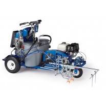 Graco LineLazer V 250DC HP Automatic Series - Three Gun, Automatic - 2-color contrast line painting striper - 17H472