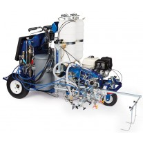 Graco LineLazer V 250DC HP Automatic Series - Two Gun, Automatic - Pressurized Beads Installed 2-Tanks - 17H473