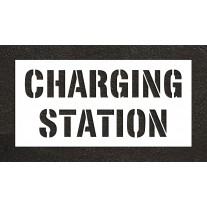 """12"""" CHARGING STATION Stencil"""