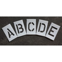 2 inch - Alphabet Marking Paint Stencl Kit