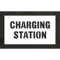 """4"""" CHARGING STATION Stencil"""
