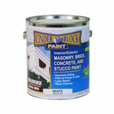 Cinder Block / Masonry Paint - 1 Gallon