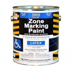 RAE Blue - 1 Gallon - Regular Dry Latex - Water Based Marking Paint - 3905-01 - Traffic and Zone Marking Paint - Rae Products and Chemicals Corp | RAE Paint