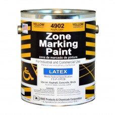 RAE Yellow - 1 Gallon - Regular Dry Latex - Water Based Marking Paint - 4902-01 - Traffic and Zone Marking Paint - Rae Products and Chemicals Corp | RAE Paint
