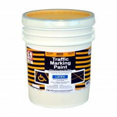 RAE Yellow - 5 Gallon - Regular Dry Latex - Water Based Marking Paint - 4902-05 - Traffic and Zone Marking Paint - Rae Products and Chemicals Corp | RAE Paint