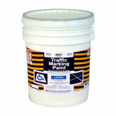 RAE White - 5 Gallon - Regular Dry Latex - Water Based Marking Paint - 4907-05 - Traffic and Zone Marking Paint - Rae Products and Chemicals Corp | RAE Paint
