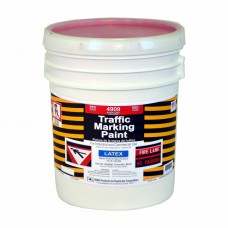 RAE Red - 5 Gallon - Regular Dry Latex - Water Based Marking Paint - 4909-05 - Traffic and Zone Marking Paint - Rae Products and Chemicals Corp | RAE Paint