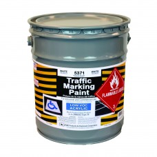 RAE White - 5 Gallon - Acetone Acrylic - Low VOC - Solvent Based Marking Paint - 5371-05 - Rae Products and Chemicals Corp | RAE Paint