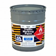 RAE White - 5 Gallon - Alkyd - Low Voc - Solvent Based Marking Paint - 7310-05 - Traffic and Zone Marking Paint - Rae Products and Chemicals Corp | RAE Paint