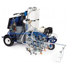 Graco LineLazer V 250DC - 17H474 - HP Automatic Series - Three Gun, Automatic - Pressurized Beads Installed 2-Tanks