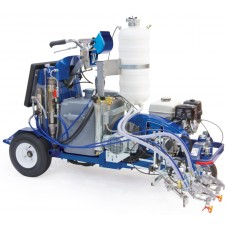 Graco LineLazer V 250SPS HP Reflective Series - Two Gun, Automatic - Pressurized Beads Installed 2-Tank - 17H469
