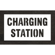 "10"" CHARGING STATION Stencil"