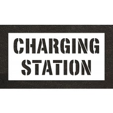 "12"" CHARGING STATION Stencil"