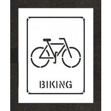 """24"""" Biking Stencil"""