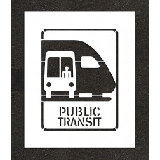 "24"" Public Transit Stencil"