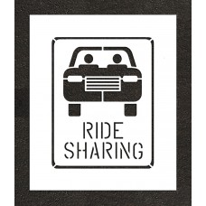 "24"" Ride Sharing Stencil"
