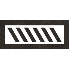 "24"" Stripes for Speedbumps Stencil"
