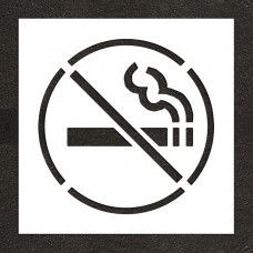 "26"" No Smoking Symbol Stencil"