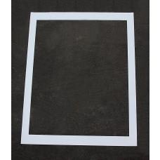 """Pavement Stencils -  48 inch Box - Handicap Stencil Background Box - (fits 39"""" Handicap)"""