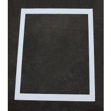 """Pavement Stencils -  56 inch Box - Handicap Stencil BACKGROUND BOX - (fits 48"""" Handicap) - 56"""" x 50"""""""