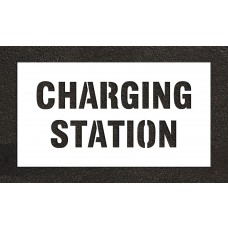 "6"" CHARGING STATION Stencil"