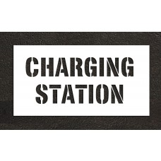 "8"" CHARGING STATION Stencil"