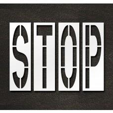 96 Inch - STOP Stencil