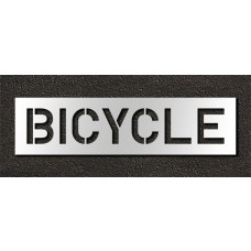 10 Inch - BICYCLES Stencil