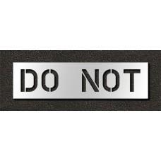 10 Inch - DO NOT Stencil