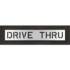 10 Inch - DRIVE THRU Stencil