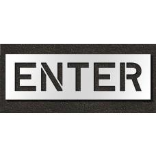 10 Inch - ENTER Stencil