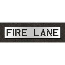 10 Inch - FIRE LANE Stencil