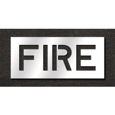 10 Inch - FIRE Stencil